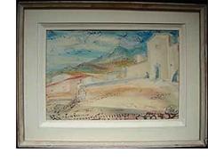 DAVID BURLIUK RUSSIAN AMERICAN ARTIST 1882-1967