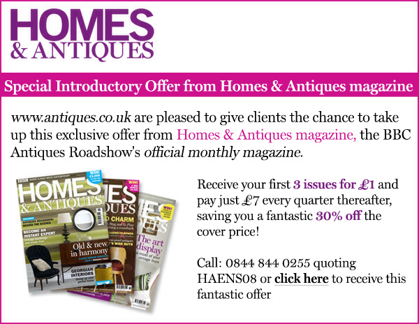 Special Introductory Offer from Homes & Antiques Magazine