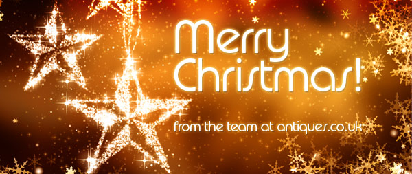 Merry Christmas! From the team at antiques.co.uk