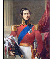 This month's Featured Item is a Portrait of Prince Albert of Saxe-Coburg and Gotha, The Prince Consort 1819-1861