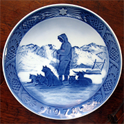 ROYAL COPENHAGEN CHRISTMAS COLLECTORS PLATE