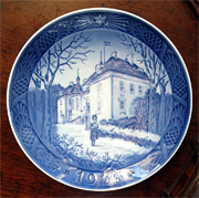 ROYAL COPENHAGEN CHRISTMAS COLLECTOR'S PLATE