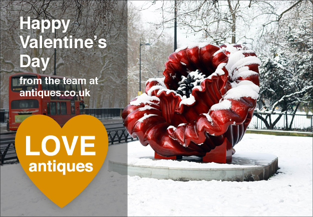Happy Valentine's Day from the team at antiques.co.uk